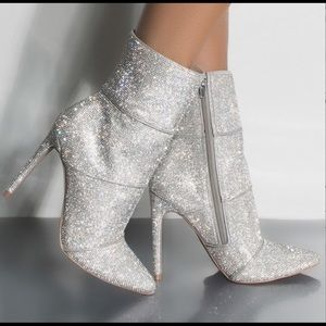 Steve Madden Crystal Bling Winona Fashion Boots